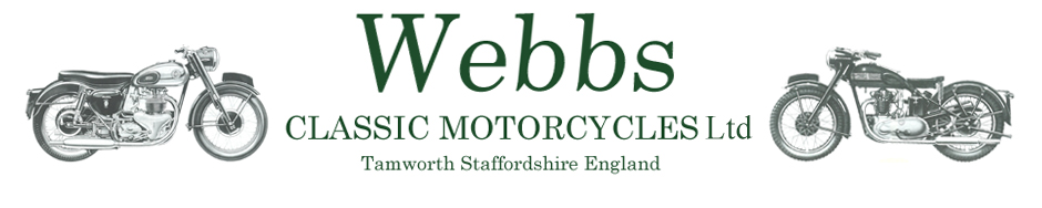 Webbs Classic Motorcycles